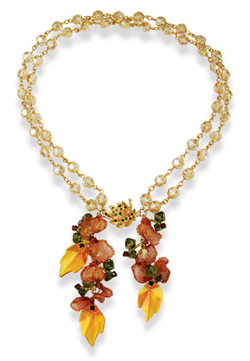 Autumn Leaves Necklace